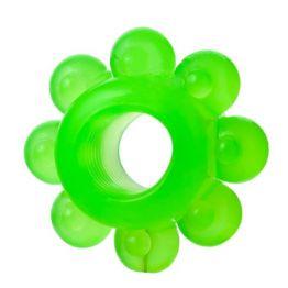 Набор колец на пенис 6 шт, TPE, зеленый 888200-10