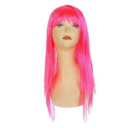 Карнавальный парик Блеск, цвет розовый 3467287