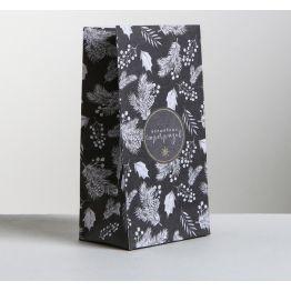Пакет подарочный без ручек Волшебных сюрпризов, 10 × 19.5 × 7 см