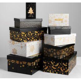 Коробка Золотой узор-6