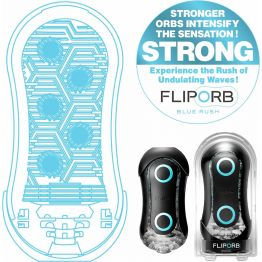 TENGA Стимулятор Flip ORB Strong синий