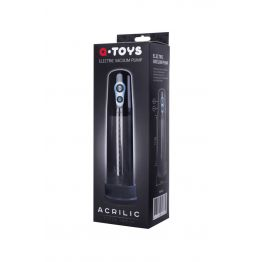 Вакуумная помпа для пениса TOYFA A-toys, черная