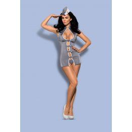 Костюм  Stewardess dress  (LXL, серый)