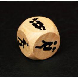 Кубик деревянный Ночь любви. Позы