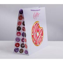 Пакет ламинированный квадратный Gifts, 30 × 30 × 12см