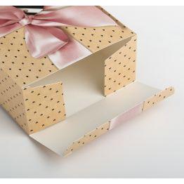 Складная коробка With love, 16 × 23 × 7.5 см
