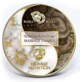 Массажная свеча Relaxing & Exciting Massage Candle Искушение 30 мл., BMN-0069