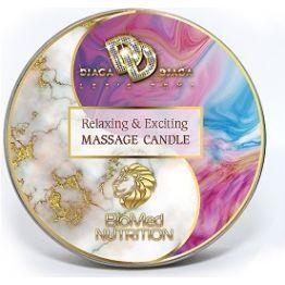 Массажная свеча Relaxing & Exciting Massage Candle Смузи бум 30 мл., BMN-0074