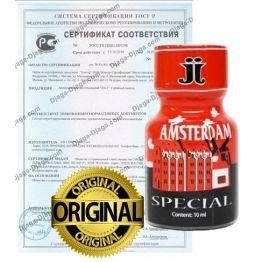 Попперс Amsterdam 10 мл. Канада, 10-033P