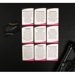 Эротический набор Во власти страсти, 10 карт, плётка и кубик