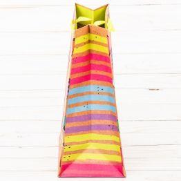 Пакет вертикальный крафт  СЮРПРИЗ , ML 23 х 27 х11,5 см