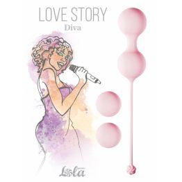 Набор вагинальных шариков Love Story Diva Tea Rose 3012-01lola