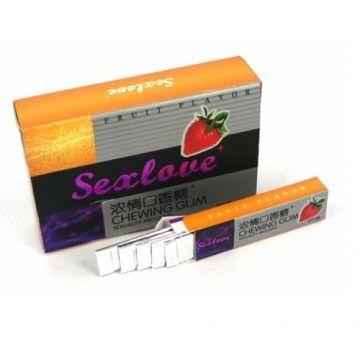 Женские Жевательная резинка для женщин  1 шт. SexLove Chewing Gum, SEX-50