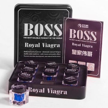 Таблетки для повышения потенции Boss Royal Viagra 1 шт., BRV-1509
