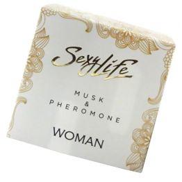 Духи с феромонами Sexy Life женские, Musk&Pheromone 5 мл