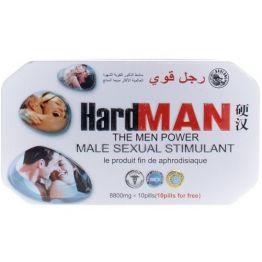 Hard Man (природный стимулятор) мужской возбудитель. Цена за 1 табл.