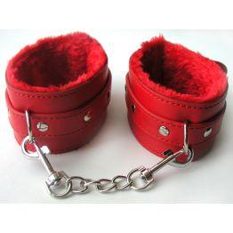 ОКОВЫ цвет красный, (PVC, текстиль) арт. MLF-90060-3