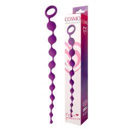 ЦЕПОЧКА АНАЛЬНАЯ цвет фиолетовый, L 320 мм D 11x17x28 мм, арт. CSM-23003