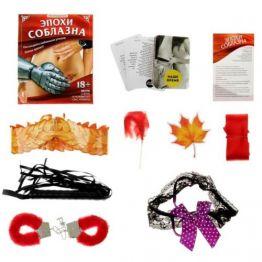 Игра секс  Эпохи соблазна , наручники, плетка, подвязка, щекоталка, картонные комплектующие