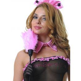 Щеточка горничной розовая (One Size)