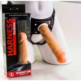 Страпон Харнес в подарочной упаковке из ПВХ 280503ru