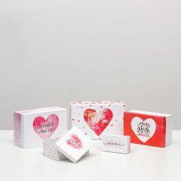 Подарочная коробка Сердце - 2