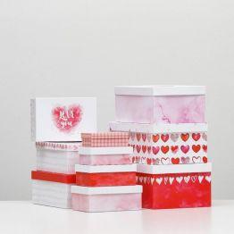 Подарочная коробка Сердце - 6