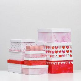 Подарочная коробка Сердце - 8