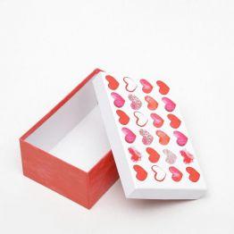 Подарочная коробка Сердце - 10