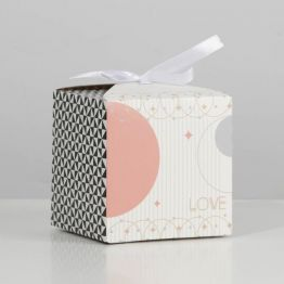 Коробка складная Геометрия, 12 × 12 × 12 см 7007574