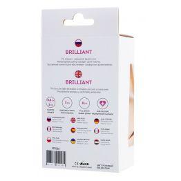 Анальная втулка ToDo by Toyfa Brilliant, водонепроницаемая, силикон, розовая, 8 см, Ø 3 см