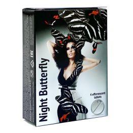 Таблеткиидля женщин возбуждающие Ночная бабочка, 4 шт