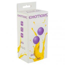 Вагинальные шарики без сцепки Emotions Lexy Medium purple 4015-01Lola