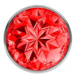 Анальная пробка Diamond Red Sparkle Large 4010-06Lola