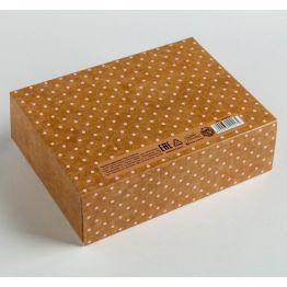 Складная коробка подарочная Для тебя, 16.5 × 12.5 × 5 см