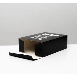 Коробка складная с приколами Ты тоже не подарок , 16 × 23 × 7,5 см 4843601