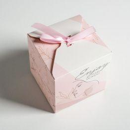 Коробка складная Enjoy, 12 × 12 × 12 см 5218399