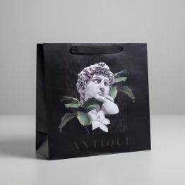 Пакет ламинированный квадратный Antique, 30 × 30 × 12 см   5226247