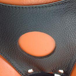 Трусики для страпона коричневые 52015ars
